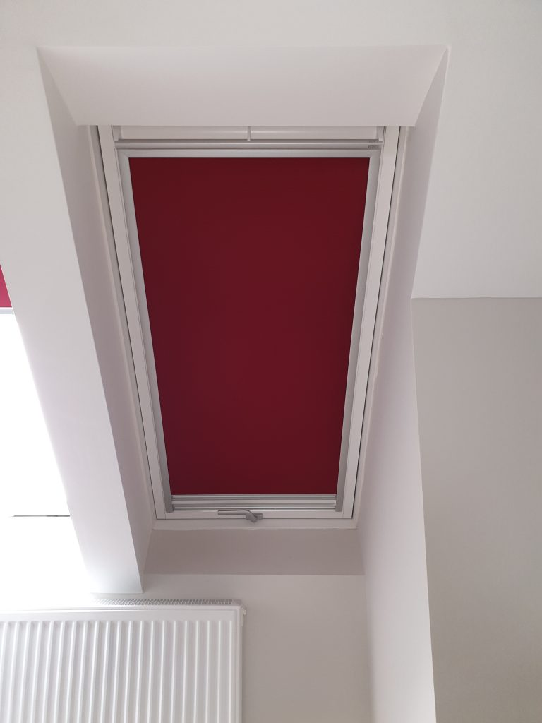 Velux Duo Blinds Sheer Pleated Blind With Black Out Roller